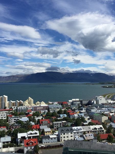 Reykjavik on the 4th of July