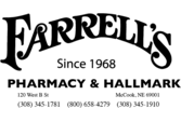 Farrells Hallmark and pharmacy