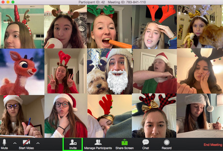 Planning a Very Merry Virtual Christmas