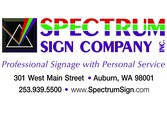 Spectrum Sign Co.